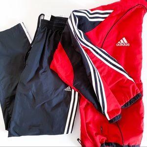 🔥 Vintage 2003 Adidas Track suit Signature FIT LG